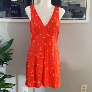 Bright and light mini sun dress!